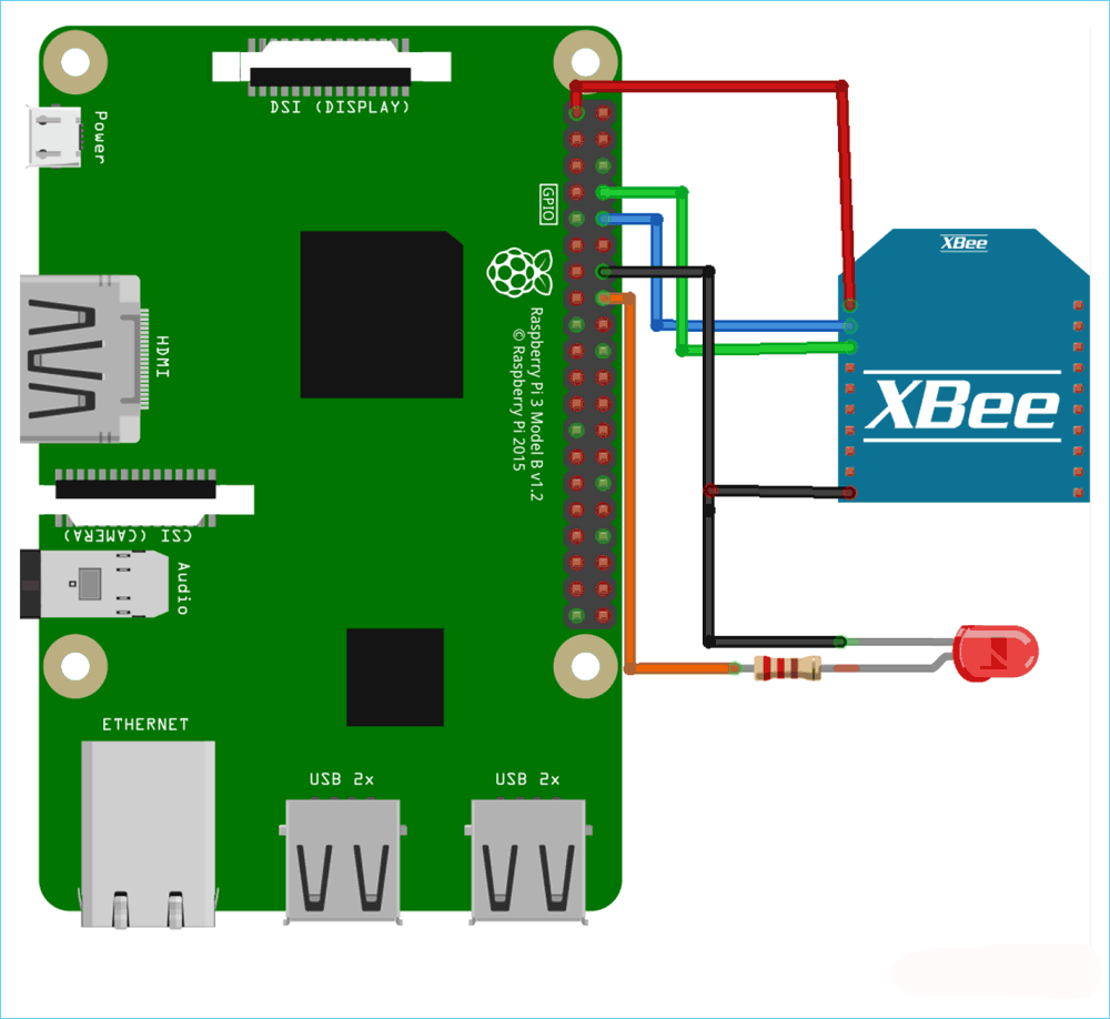 Circuit-Diagram-Interfacing-XBee-Module-with-Raspberry-Pi