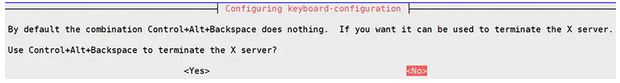 configure keyboard