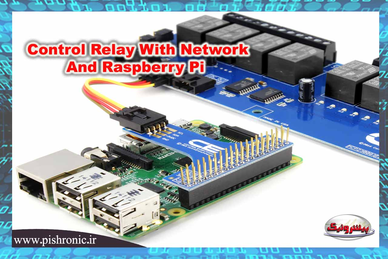 Control Relay With Network And Raspberry Pi